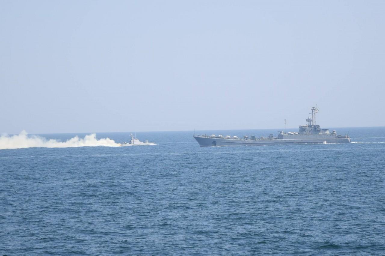 Шторм-2018: украинские ВМС провели боевые стрельбы - фото 23