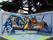 Португальский уличный художник удивляет мир 3D-граффити - фото 14