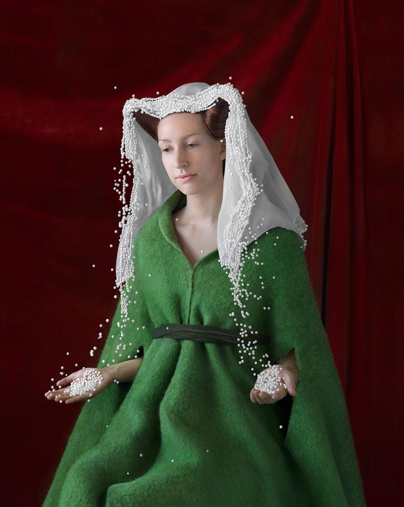 ... Художниця створює костюми епохи Відродження з пінопласту та  бульбашкової плівки - фото 1 ... ef3b01154874e