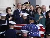 Трамп с женой почтили память Буша-старшего в Капитолии - фото 4