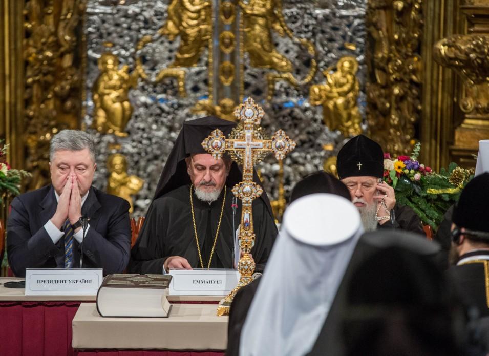 Пять часов Объединительного собора в Киеве: обнародованы фото - фото 6