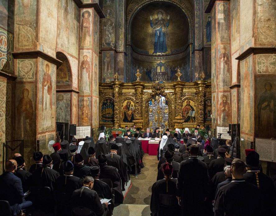 Пять часов Объединительного собора в Киеве: обнародованы фото - фото 4