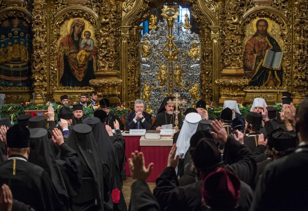 Пять часов Объединительного собора в Киеве: обнародованы фото - фото 13