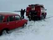 Под Одессой в снежном плену застрял десяток машин - фото 1