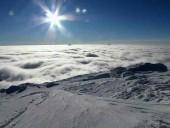 В сети показали заснеженные вершины Карпат - фото 5