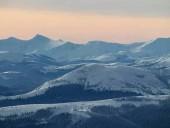 В сети показали заснеженные вершины Карпат - фото 4