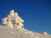 В сети показали заснеженные вершины Карпат - фото 2