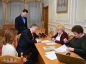 Порошенко подал документы в ЦИК - фото 4