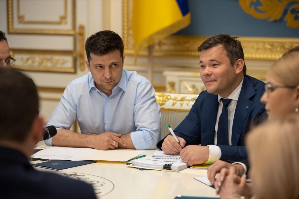 З'явилися фото з зустрічі Зеленського з Парубієм і лідерами фракцій - фото 11