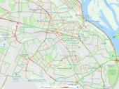 У Києві затори значно скували рух автомобілів - фото 1