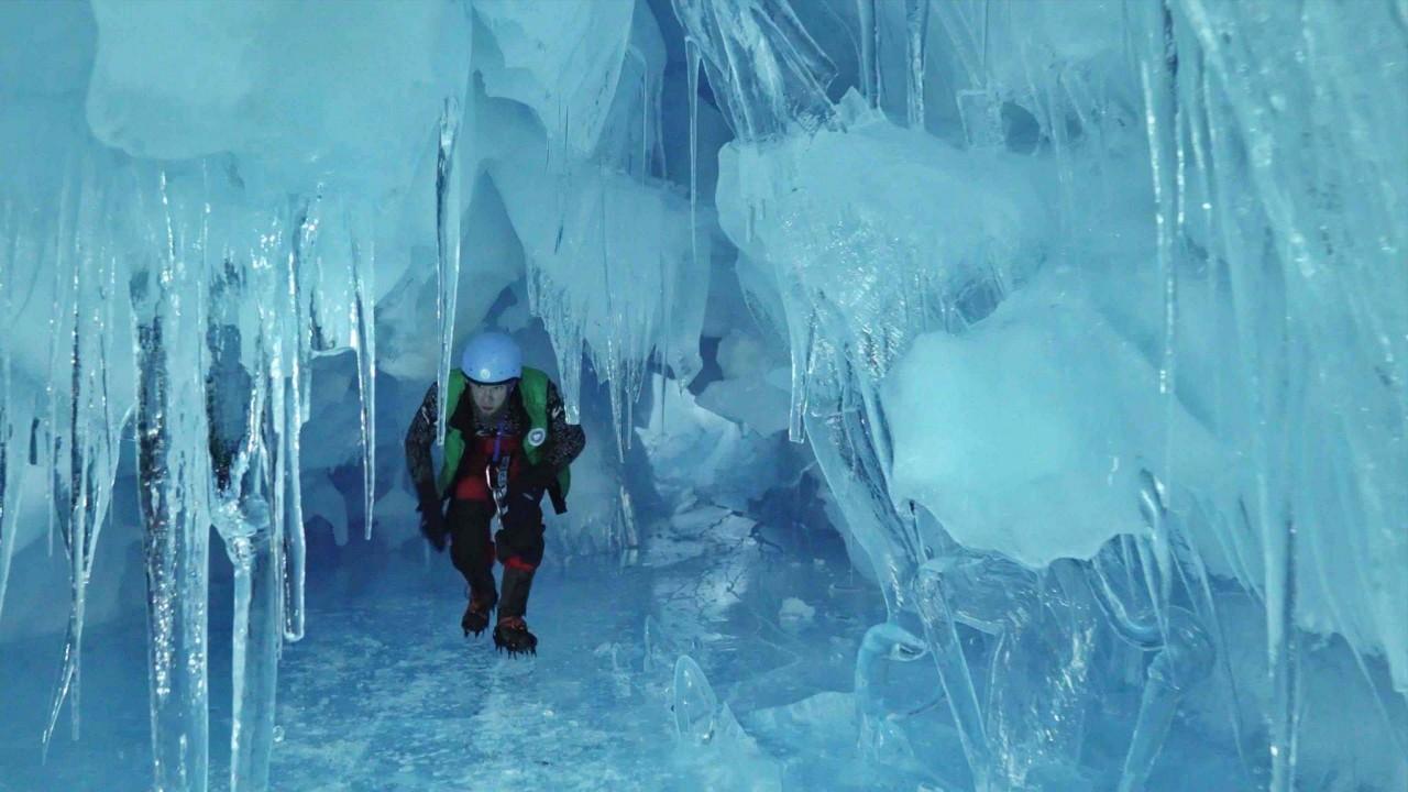 """Українські полярники віднайшли в Антарктиді """"загублену"""" триповерхову печеру - фото 3"""