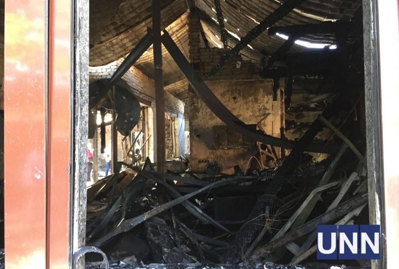 Фото з пожежі у будинку Гонтаревої - фото 8