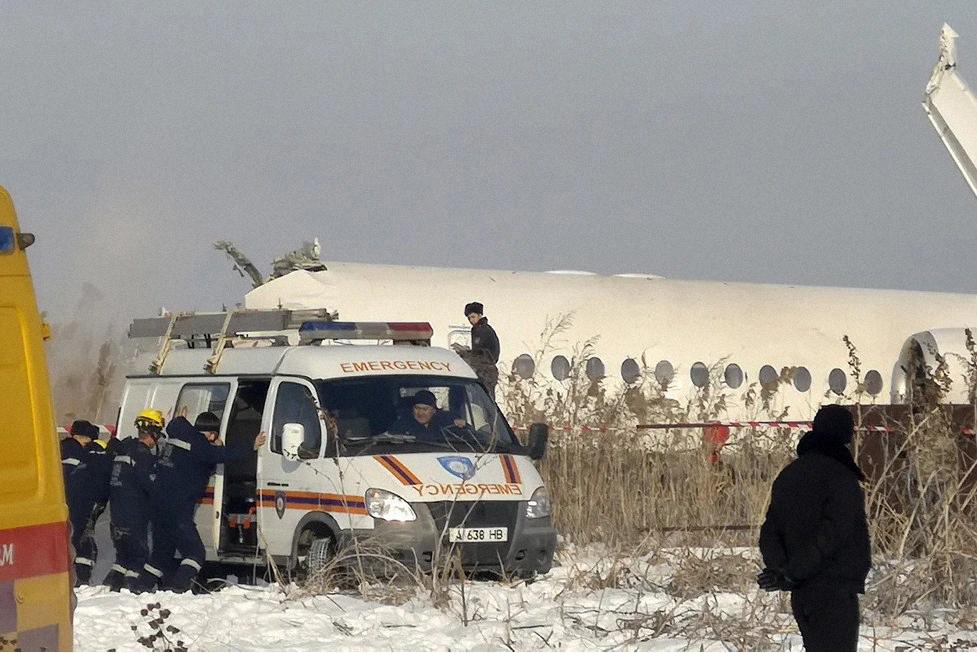 Стали известны предварительные причины падения самолета казахстанской авиакомпании Bek Air в декабре 2019 года