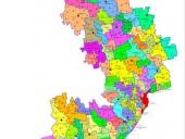 В Одесской ОГА опубликовали карту перспективного плана общин - фото 1