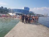 На одесском пляже застряла группа дельфинов: их пытаются спасти - фото 4