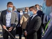 Президенту в Одесской области показали реконструкцию аэропорта - фото 3