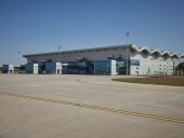 Президенту в Одесской области показали реконструкцию аэропорта - фото 1