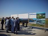 Президенту в Одесской области показали реконструкцию аэропорта - фото 2