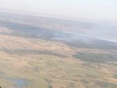 Масштабный лесной пожар в Херсонской области: привлекли авиацию и пожарные танки - фото 2
