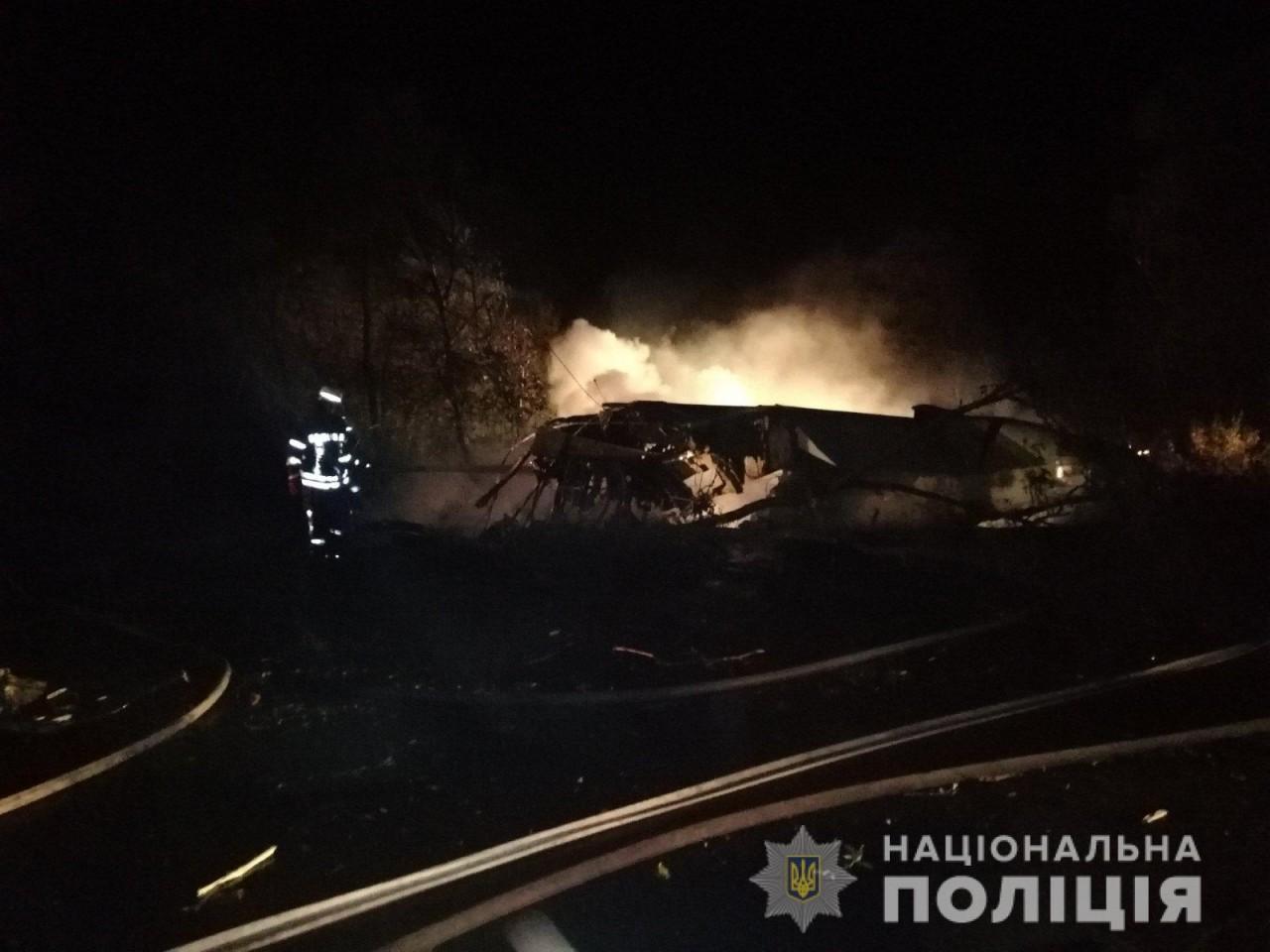 Падіння літака під Харковом: фото та відео з місця трагедії - фото 2