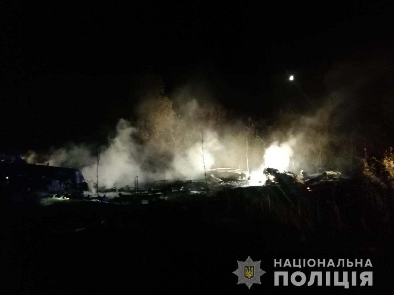 Падіння літака під Харковом: фото та відео з місця трагедії - фото 4