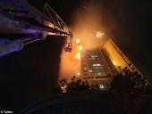 Крупный пожар в Южной Корее: горит 33-этажный дом - фото 4
