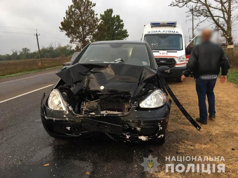 В Одесской области в ДТП травмировались семь человек, среди них дети