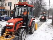 Киев засыпало снегом: коммунальщики усиленно убирают улицы - фото 7