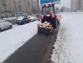В Киеве около тысячи коммунальщиков убирают улицы от снега - КГГА - фото 2