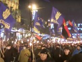 В Киеве прошло факельное шествие ко дню рождения Степана Бандеры - фото 3