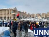 На Майдане протестуют против повышения тарифов - фото 3