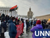 На Майдане протестуют против повышения тарифов - фото 4