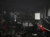Крупный пожар произошел на СТО в Днепре: огнем уничтожено 4 автомобиля - фото 4