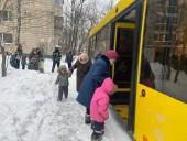 В Киеве загорелся детсад: на морозе эвакуировали более 120 детей - фото 2