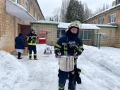 В Киеве загорелся детсад: на морозе эвакуировали более 120 детей - фото 4