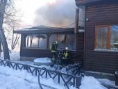 """В парке """"Муромец"""" выгорело кафе: появились фото - фото 3"""
