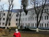 В Киеве горело общежитие КНУСА: эвакуировали шесть человек - фото 5