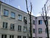 В Киеве горело общежитие КНУСА: эвакуировали шесть человек - фото 3