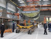 Минобороны показало строительство нового самолета Ан-178 для Воздушных сил - фото 1