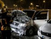 В Киеве за ночь четыре раза горели автомобили - фото 1