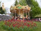 Над композицией работали более 15 дизайнеров: на Певческом открыли выставку с более 700 тысяч тюльпанов - фото 10