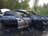 В Киеве вспыхнул автомобиль, когда его тестировали водитель и механик СТО - фото 2