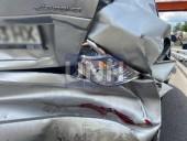 В Киеве таксист Uber протаранил легковушку - фото 3