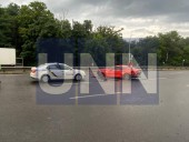 Безумная поездка на 30-летие: в Киеве мужчина на арендованном спортивном Ford Mustang попал в ДТП - фото 1
