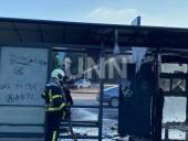 В Киеве сгорела дотла остановка. Предварительная причина - поджог - фото 4