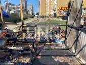 Отошел на минуту, а когда вернулся палатка с овощами пылала: в Киеве огонь уничтожил торговую точку - фото 4