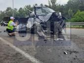 """Жуткая ДТП на Богатырской: водитель """"Газели"""" травмировал руку, а пассажир автобуса - голову - фото 8"""