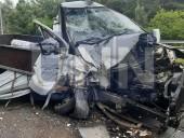 """Жуткая ДТП на Богатырской: водитель """"Газели"""" травмировал руку, а пассажир автобуса - голову - фото 6"""