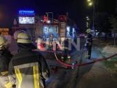 """Ночной пожар на Троещине: сгорел """"дом на колесах"""" для рабочих - фото 6"""