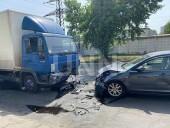 В Киеве произошла тройная ДТП: один из участников сначала скрылся с места аварии, но через полчаса вернулся - фото 5